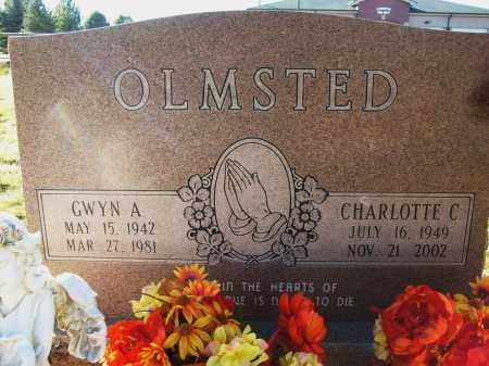 OLMSTED, GWYN A. - Boulder County, Colorado | GWYN A. OLMSTED - Colorado Gravestone Photos