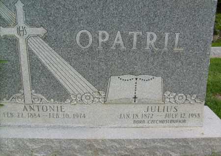 OPATRIL, ANTONIE - Boulder County, Colorado   ANTONIE OPATRIL - Colorado Gravestone Photos