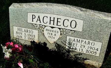 PACHECO, HILARIO - Boulder County, Colorado | HILARIO PACHECO - Colorado Gravestone Photos