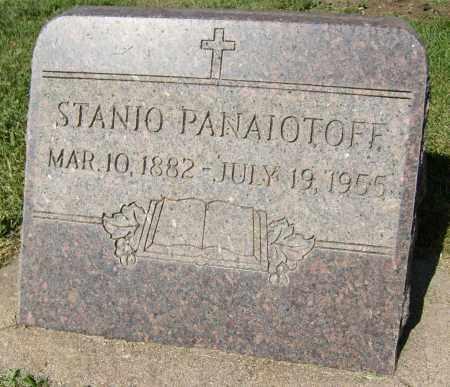 PANAIOTOFF, STANIO - Boulder County, Colorado | STANIO PANAIOTOFF - Colorado Gravestone Photos