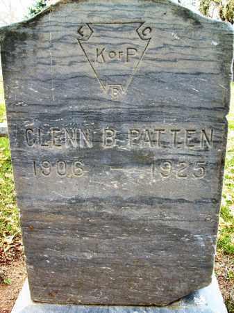 PATTEN, GLENN B. - Boulder County, Colorado | GLENN B. PATTEN - Colorado Gravestone Photos