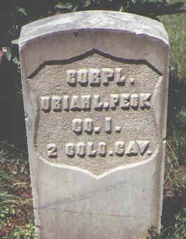 PECK, URIAH L. - Boulder County, Colorado | URIAH L. PECK - Colorado Gravestone Photos