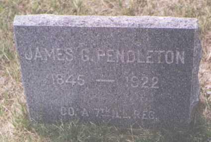 PENDLETON, JAMES G. - Boulder County, Colorado | JAMES G. PENDLETON - Colorado Gravestone Photos