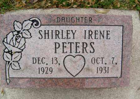PETERS, SHIRLEY IRENE - Boulder County, Colorado | SHIRLEY IRENE PETERS - Colorado Gravestone Photos