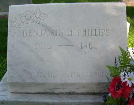 PHILLIPS, BENJAMIN H. - Boulder County, Colorado | BENJAMIN H. PHILLIPS - Colorado Gravestone Photos