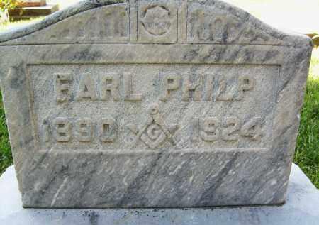 PHILP, EARL - Boulder County, Colorado | EARL PHILP - Colorado Gravestone Photos
