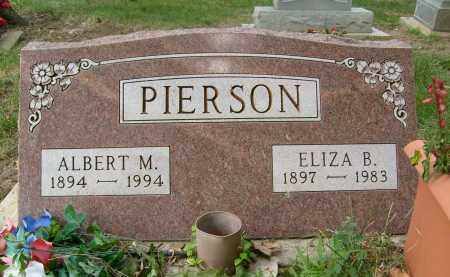 PIERSON, ALBERT M. - Boulder County, Colorado   ALBERT M. PIERSON - Colorado Gravestone Photos