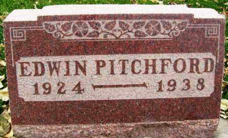 PITCHFORD, EDWIN - Boulder County, Colorado | EDWIN PITCHFORD - Colorado Gravestone Photos