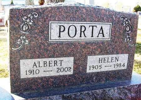 PORTA, ALBERT - Boulder County, Colorado | ALBERT PORTA - Colorado Gravestone Photos