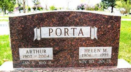 PORTA, ARTHUR - Boulder County, Colorado | ARTHUR PORTA - Colorado Gravestone Photos