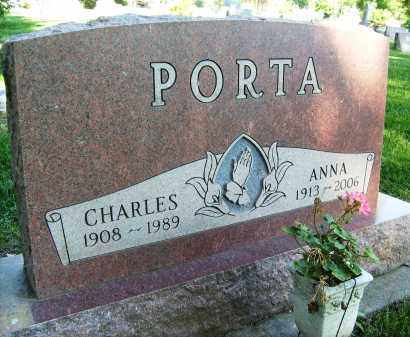 PORTA, ANNA - Boulder County, Colorado | ANNA PORTA - Colorado Gravestone Photos