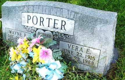 PORTER, VERA E. - Boulder County, Colorado | VERA E. PORTER - Colorado Gravestone Photos