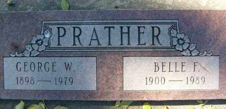 PRATHER, GEORGE W. - Boulder County, Colorado | GEORGE W. PRATHER - Colorado Gravestone Photos