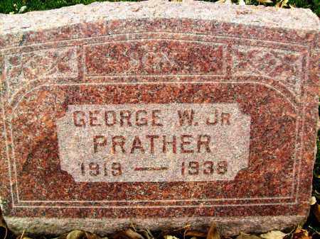 PRATHER, GEORGE W., JR. - Boulder County, Colorado | GEORGE W., JR. PRATHER - Colorado Gravestone Photos