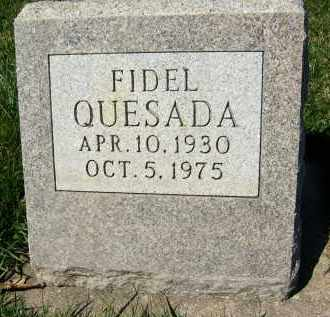 QUESADA, FIDEL - Boulder County, Colorado | FIDEL QUESADA - Colorado Gravestone Photos