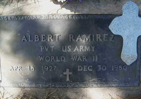 RAMIREZ, ALBERT - Boulder County, Colorado | ALBERT RAMIREZ - Colorado Gravestone Photos