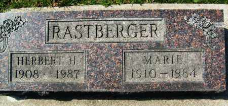 RASTBERGER, HERBERT H. - Boulder County, Colorado | HERBERT H. RASTBERGER - Colorado Gravestone Photos