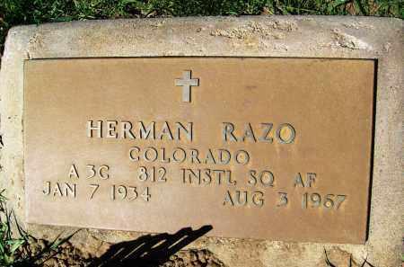 RAZO, HERMAN - Boulder County, Colorado | HERMAN RAZO - Colorado Gravestone Photos