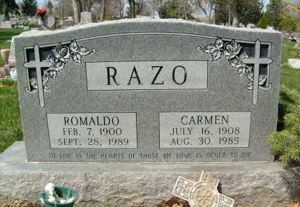 RAZO, ROMALDO - Boulder County, Colorado   ROMALDO RAZO - Colorado Gravestone Photos