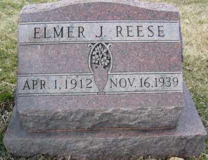 REESE, ELMER J. - Boulder County, Colorado   ELMER J. REESE - Colorado Gravestone Photos