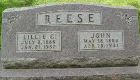 REESE, JOHN - Boulder County, Colorado | JOHN REESE - Colorado Gravestone Photos