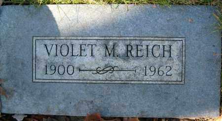 REICH, VIOLET M. - Boulder County, Colorado | VIOLET M. REICH - Colorado Gravestone Photos