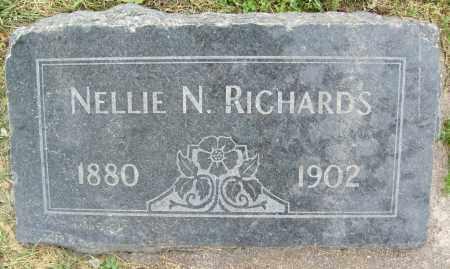 RICHARDS, NELLIE N. - Boulder County, Colorado | NELLIE N. RICHARDS - Colorado Gravestone Photos