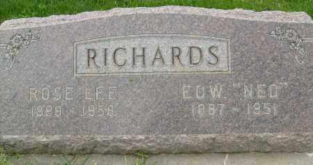 RICHARDS, ROSE LEE - Boulder County, Colorado   ROSE LEE RICHARDS - Colorado Gravestone Photos