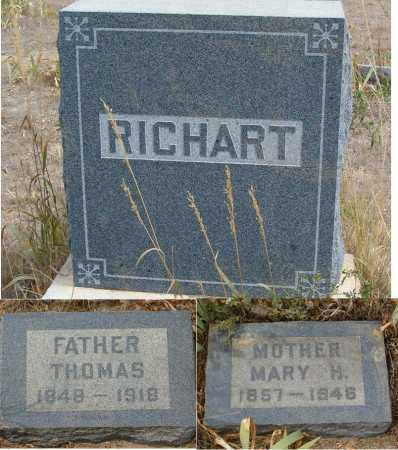 RICHART, THOMAS MARION - Boulder County, Colorado   THOMAS MARION RICHART - Colorado Gravestone Photos