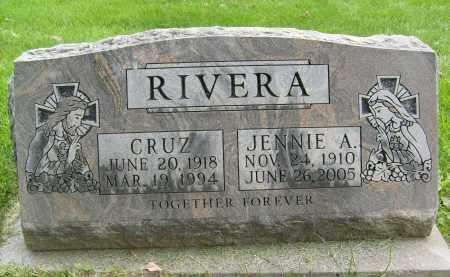 RIVERA, JENNIE A. - Boulder County, Colorado | JENNIE A. RIVERA - Colorado Gravestone Photos