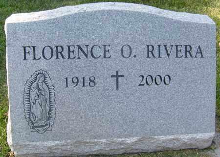 RIVERA, FLORENCE O. - Boulder County, Colorado | FLORENCE O. RIVERA - Colorado Gravestone Photos