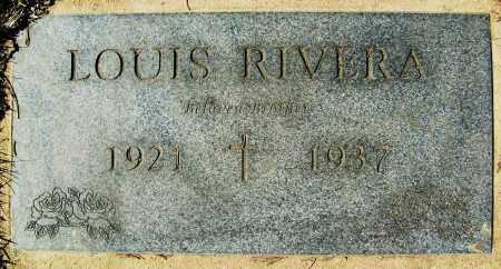 RIVERA, LOUIS - Boulder County, Colorado | LOUIS RIVERA - Colorado Gravestone Photos