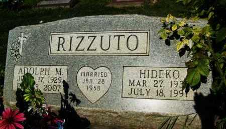 RIZZUTO, ADOLPH M. - Boulder County, Colorado | ADOLPH M. RIZZUTO - Colorado Gravestone Photos