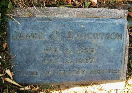 ROBERTSON, JAMES T. - Boulder County, Colorado | JAMES T. ROBERTSON - Colorado Gravestone Photos
