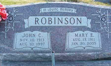 ROBINSON, JOHN C. - Boulder County, Colorado | JOHN C. ROBINSON - Colorado Gravestone Photos
