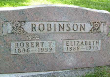 ROBINSON, ELIZABETH - Boulder County, Colorado | ELIZABETH ROBINSON - Colorado Gravestone Photos