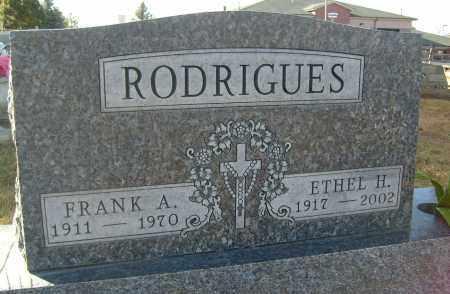 RODRIGUES, FRANK A. - Boulder County, Colorado   FRANK A. RODRIGUES - Colorado Gravestone Photos