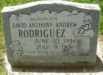 RODRIGUEZ, DAVID ANTHONY ANDREW - Boulder County, Colorado | DAVID ANTHONY ANDREW RODRIGUEZ - Colorado Gravestone Photos