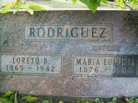 RODRIGUEZ, LORETO B. - Boulder County, Colorado | LORETO B. RODRIGUEZ - Colorado Gravestone Photos