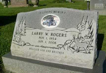 ROGERS, LARRY W. - Boulder County, Colorado | LARRY W. ROGERS - Colorado Gravestone Photos
