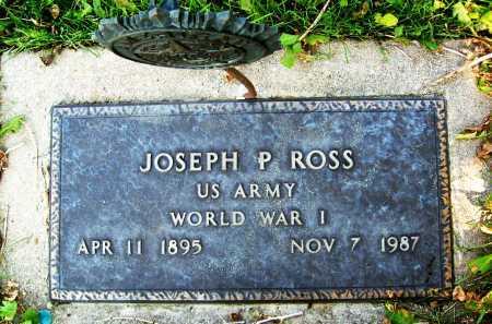 ROSS, JOSEPH P. - Boulder County, Colorado | JOSEPH P. ROSS - Colorado Gravestone Photos