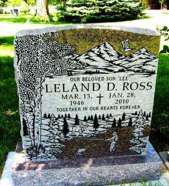ROSS, LELAND D. - Boulder County, Colorado   LELAND D. ROSS - Colorado Gravestone Photos
