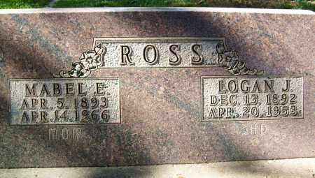 ROSS, MABEL E. - Boulder County, Colorado | MABEL E. ROSS - Colorado Gravestone Photos
