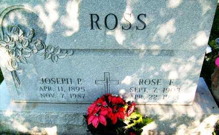 ROSS, ROSE F. - Boulder County, Colorado | ROSE F. ROSS - Colorado Gravestone Photos