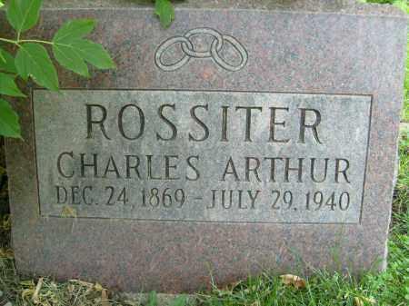 ROSSITER, CHARLES ARTHUR - Boulder County, Colorado | CHARLES ARTHUR ROSSITER - Colorado Gravestone Photos