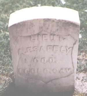 SAFELY, A. F. - Boulder County, Colorado   A. F. SAFELY - Colorado Gravestone Photos