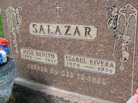SALAZAR, ISABEL RIVERA - Boulder County, Colorado | ISABEL RIVERA SALAZAR - Colorado Gravestone Photos