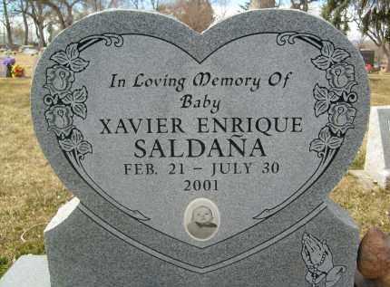 SALDANA, XAVIER ENRIQUE - Boulder County, Colorado | XAVIER ENRIQUE SALDANA - Colorado Gravestone Photos