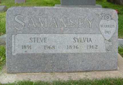 SAMANSKY, SYLVIA - Boulder County, Colorado   SYLVIA SAMANSKY - Colorado Gravestone Photos
