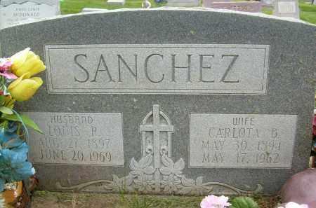 SANCHEZ, CARLOTA B. - Boulder County, Colorado | CARLOTA B. SANCHEZ - Colorado Gravestone Photos